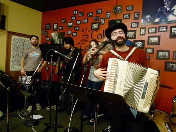 isaacplaying accordion