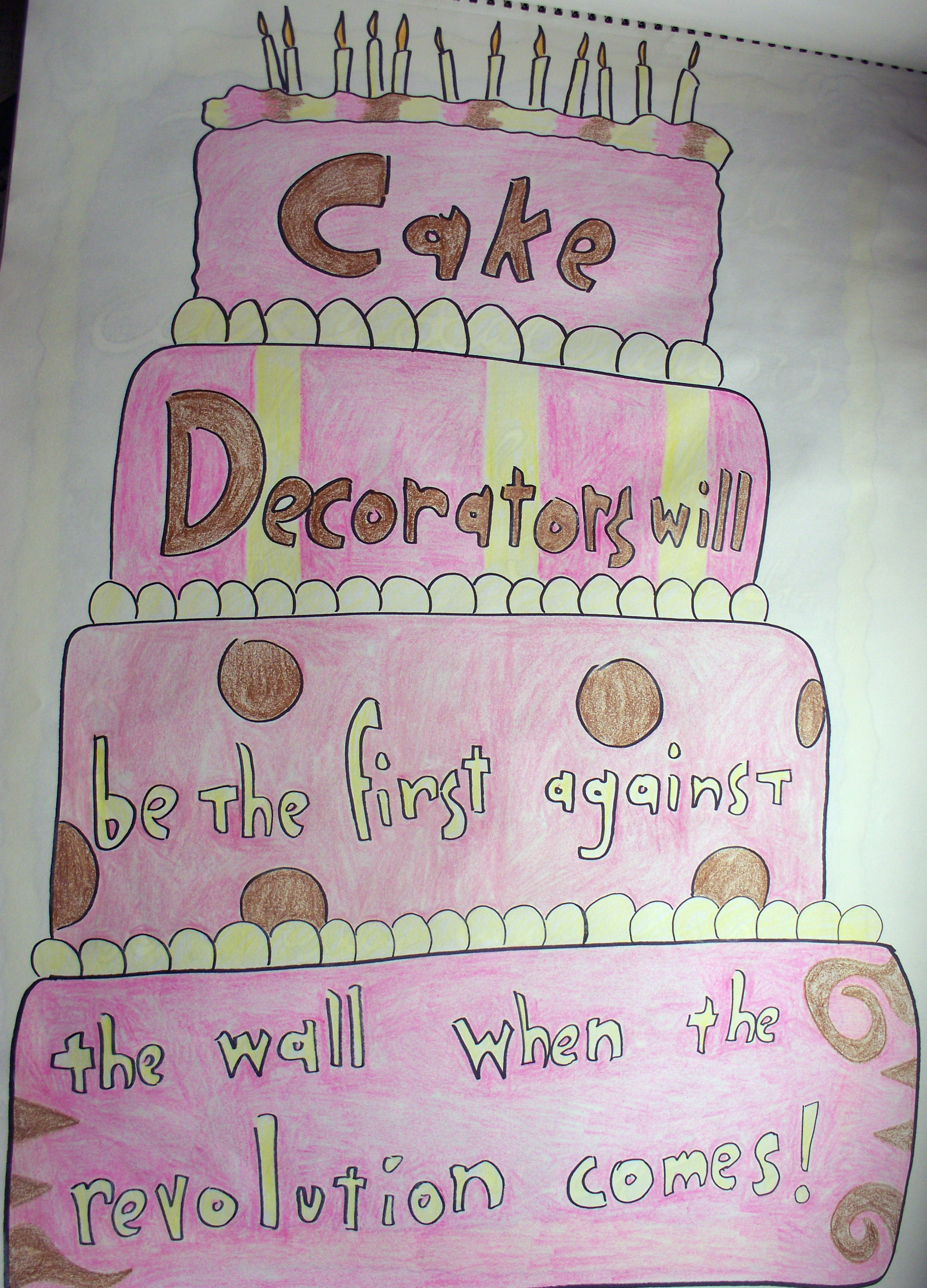 The Cake Decorating Joke Isaac and the Awkward Situations