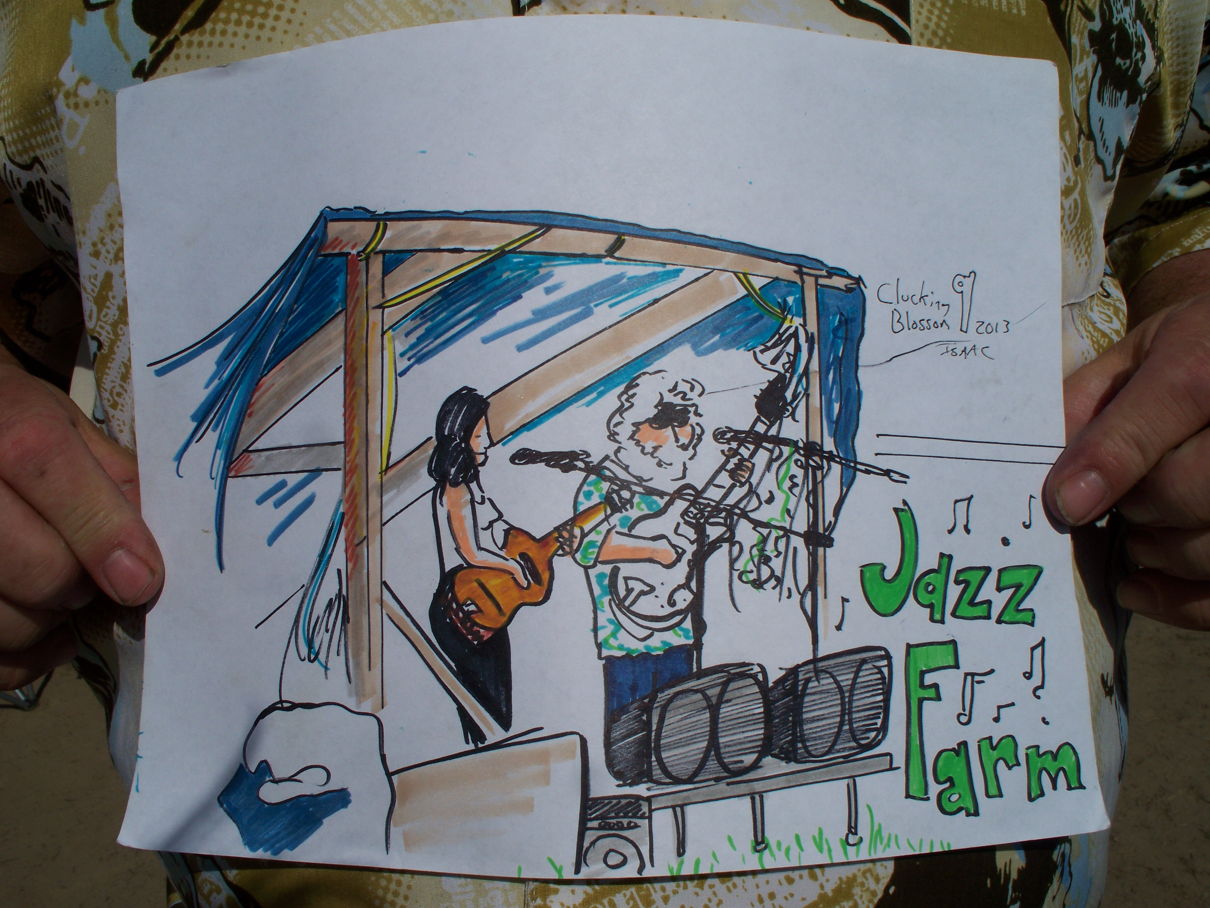 Jazz Farm and a color vision of the stage