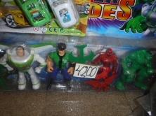 Buzz Lightyear, Ben Ten, Spiderman, what a team!