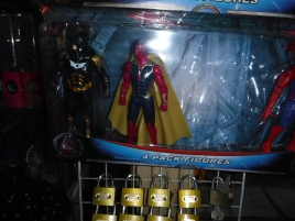 Batman and Vision? Not the same franchise universe!